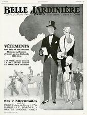 """""""BELLE JARDINIERE"""" Annonce originale entoilée L'ILLUSTRATION 1928  Jean ROUTIER"""