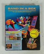 Vintage BAND IN A BOX Music Audio Software Windows 95/98 Macintosh IMac Apple