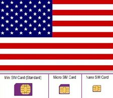 NEW, Lyca USA, SIM card. STANDARD, MICRO and NANO sim card. United States.