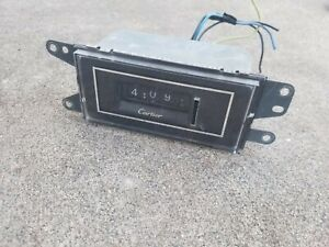 1978 1979 Lincoln Continental Town Coupe Town Car Cartier Clock BEAUTIFUL 78 79
