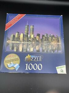 Perfalock Puzzle New York World Trade Center 1000 Pc Commemorative Edition