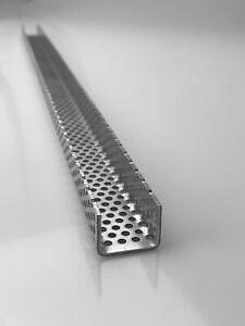 Winkel Lochblech RV3-5 Aluminium 1,5mm dick Alu Blech U-Profil Kiesfang