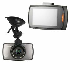 "HD 1080P Auto Car DVR Camera Video Recorder 2.7"" LCD Vehicle 6 LED"
