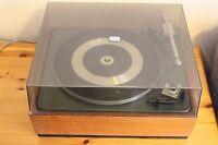 Garrard SP25 Mk 2 Turntable Record Player with teak plinth