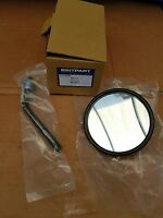Round Mirror Head and Arm Land Rover Series 1 2 and 3 New 125mm
