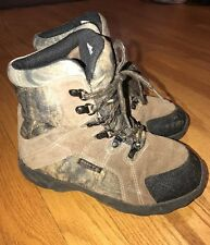 Rocky Hunting Hiking Fishing Waterproof Camouflage Real Tree Boots Boys Sz 4.5 #