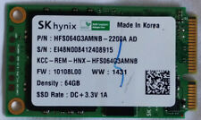 SK Hynix mSATA 64GB SSD (HFS64G3AMNB-2200A AD)