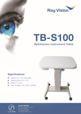Optical Motorized Power table Ophthalmic Adjustable Instrument Table 23