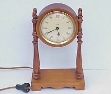 VERY Vintage Trend Wood Electric Clock Zeeland MI. NICE