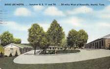 Martel Tennessee Dixie Lee Motel Street View Antique Postcard K36893
