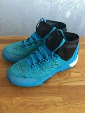 wholesale dealer 54239 16e07 Boys Adidas 2015 Crazylight Boost PrimeKnit Strap Blue Basketball Shoes  size 5.5