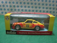 RARE Vintage  -  PORSCHE Carrera RS Tour Auto 1973   -  1/43 Solido Ref. 24