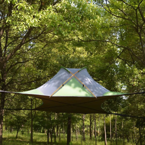 Hanging Camping Tent Hammock Canopy Tree Tents Waterproof Outdoor Sleep Shelter