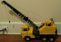 Vintage Jumbo Nylint Michigan Crane. Pressed Steel Toy