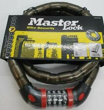 Master Lock Combination Armour Cable Lock 8226EURDPROSM 1m x 18mm - Smoke