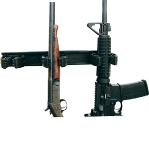 UtilaGrip Shotgun & Rifle Gun Rack - Wall Mount - Adjustable Firearms Storage
