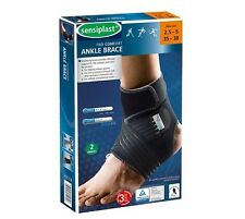 2 SENSIPLAST ANKLE SUPPORT BRACE BANDAGE FOOT