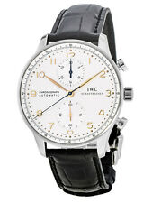 New IWC Portugieser Automatic Chronograph Men's Watch IW371445