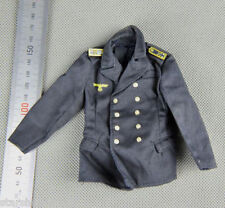 1:6 Scale Dragon WWII German Blue Navy Soldier Uniform Jacket Clothes Model Toys