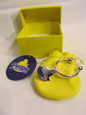 New Peeps Sterling Silver Chick Charm Keychain With Box Easter