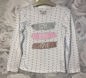Girls Age 6-7 Years - Long Sleeved Top