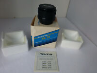 tokina sl 28mm f2.8 n/ai-s filter sz 49mm hood rh491 single focal length lens