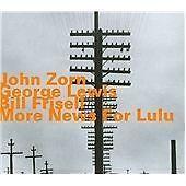More News For Lulu, John Zorn, George Lewis, Bill Fr CD | 0752156065524 | New