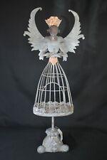 Dekorativer Teelichthalter Clayre & Eef Engel Metall 65cm NEU 1,3kg Handarbeit