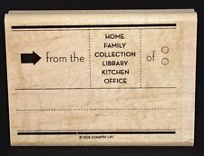From the Home Family Rubber Stamp Kitchen Office by Stampin Up Open for Trade