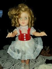 Shirley Temple Doll Ideal St-15-N Vintage Vinyl 14�