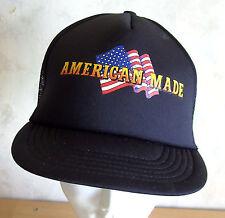 Baseball CAP American made USA bandiera bandiera Basecap US poliestere