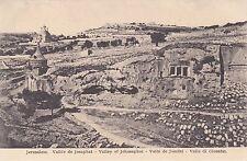 PALESTINE - Jerusalem - Valley of Jehosaphat