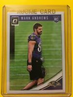 🔥🔥2018 DONRUSS OPTIC MARK ANDREWS ROOKIE RC #121 Ravens