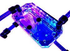 EMCOOL Flow Distribution Acrylic Plate & Reservoir - Custom PC Watercooling ARGB