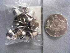 Liberty Bells 15mm Silver  Pkt 12