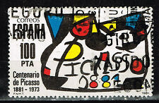Spain Art Picasso 100 Ann Famous Painting stamp 1981