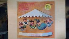 Golden Record ACTIVITY SONGS VOL 11 LP 1962