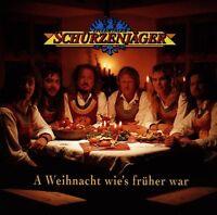 """ZILLERTALER SCHÜRZENJÄGER """"A WEIHNACHT WIE'S..."""" CD NEU"""