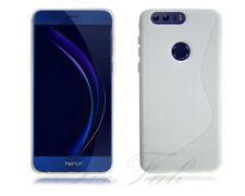 Fundas y carcasas transparente de color principal blanco para teléfonos móviles y PDAs Huawei