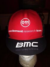 BMC Swiss Cycling Technology Summer Cap Black Red White One Size Adult New