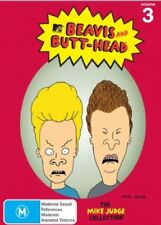 Beavis and Butthead - The Mike Judge Collection : Vol 3 (DVD, 2007, 3-Disc Set)