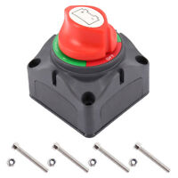 12V Narva Battery Master Switch Boat Marine Caravan Dual Isolator 4Posi +Screws