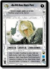 Han With Heavy Blaster Pistol [slight wear] ENHANCED PREMIERE star wars ccg zz