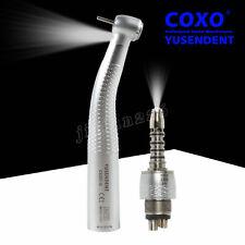 Dental Fiber Optic Led Handpiece 6 Hole Quick Coupler Fit Sirona Rf Coupling Hs