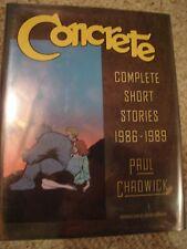 Concrete Complete Short Stories S&N HC #459/2000 w/Orig Concrete Art Chadwick