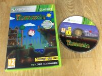 Terraria For Microsoft Xbox 360 Game Complete PAL - Dig, Fight, Explore, Build