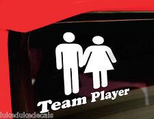 """Team Player 6"""" _sick JDM race drift stance Decal Sticker"""