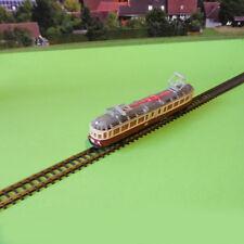 """rollfähiges Standmodell ET91 - """"Gläserner Zug"""" von 1957 - Spur Z - 3D-Druck"""