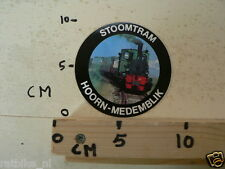 STICKER,DECAL HOORN-MEDEMBLIK STOOMTRAM