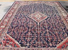 AUTHENTIC VINTAGE HANDWOVEN PERSIAN MAHAL MESHKABAD RUG ROOM SIZE